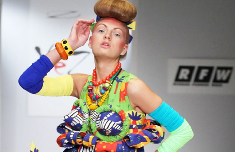 Западные модельеры и русские этнические мотивы