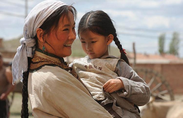 Моя монгольская мама