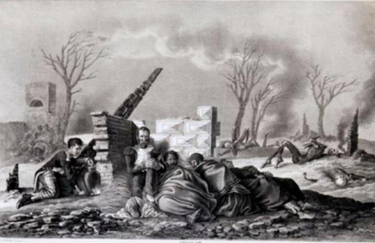Русская кампания 1812 г. в рисунках Х.В. фон Фабера дю Фора