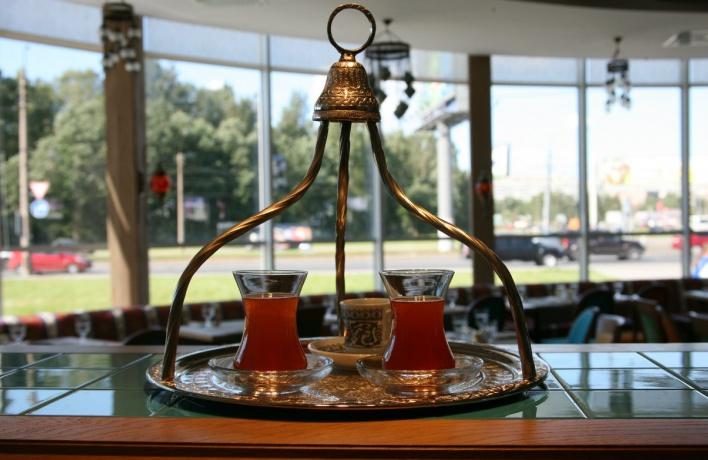 Открытие ресторана «Афиет»