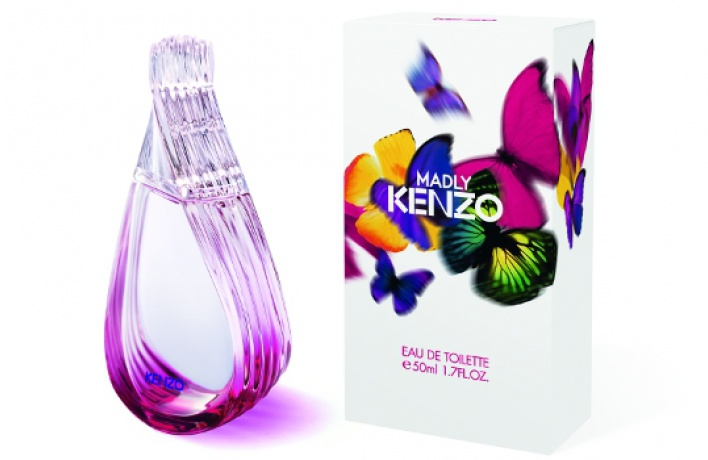 Вышел новый женский аромат Madly!Kenzo