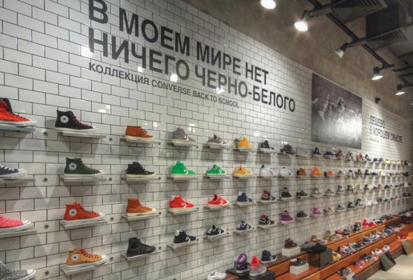 В«Атриуме» открылся флагманский магазин Converse - Фото №0