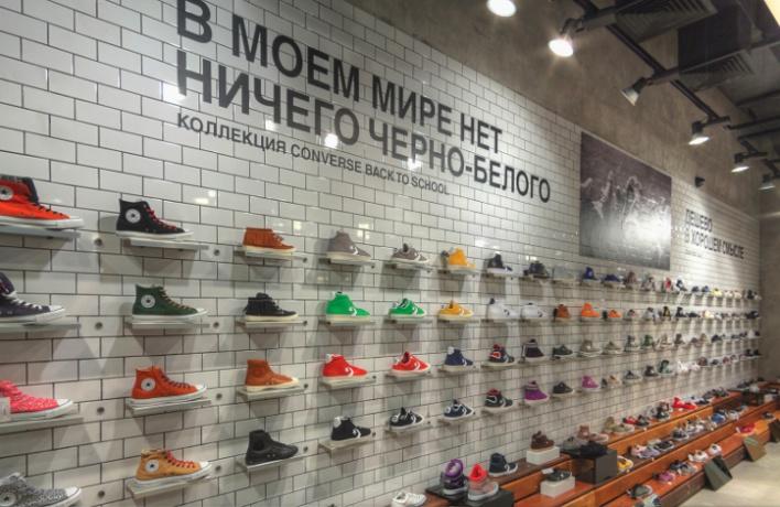 В«Атриуме» открылся флагманский магазин Converse