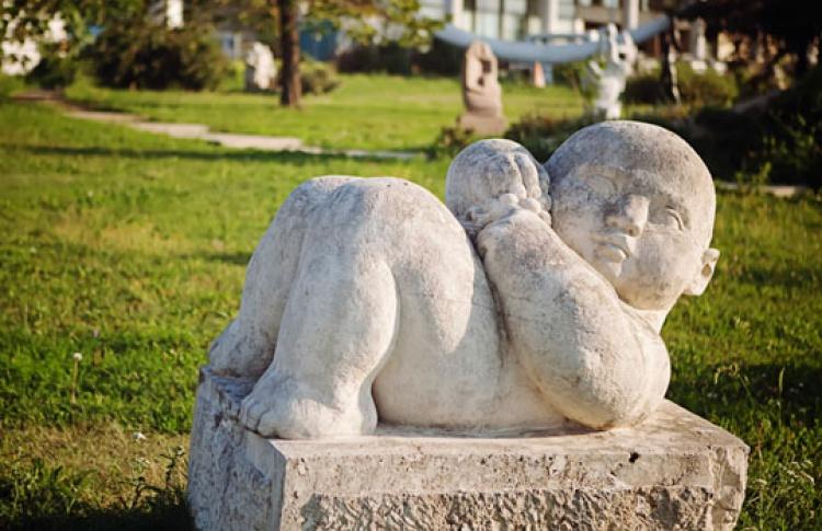 Впарке искусств возник «Зал белокаменной скульптуры»
