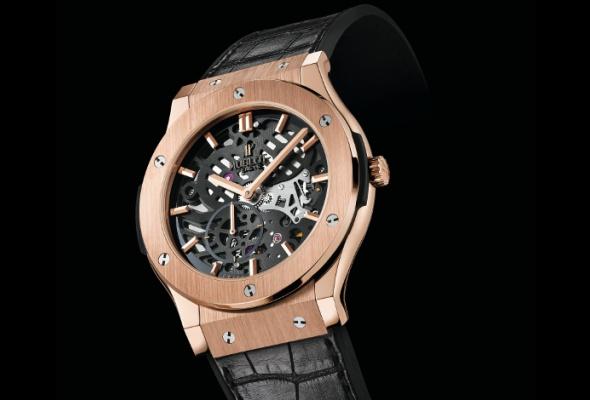 Hublot создал часы ввиде скелетона - Фото №0