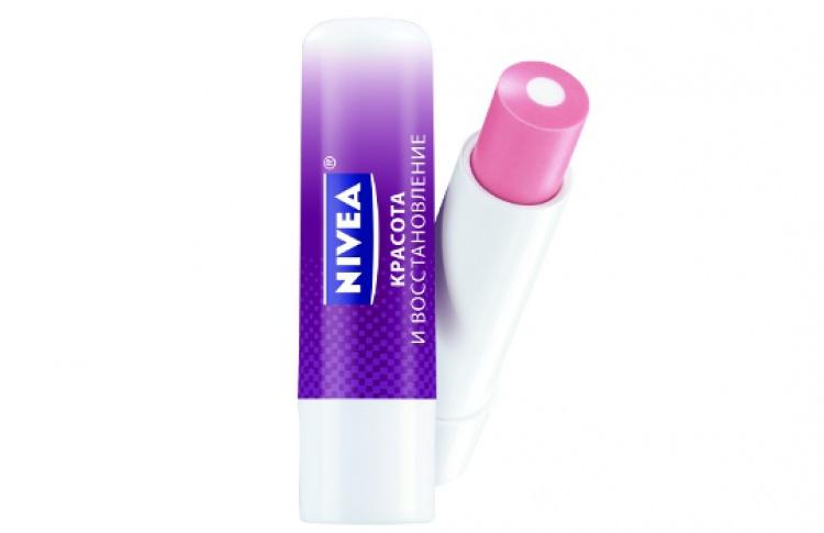 Бальзам для губ Nivea «Красота ивосстановление»