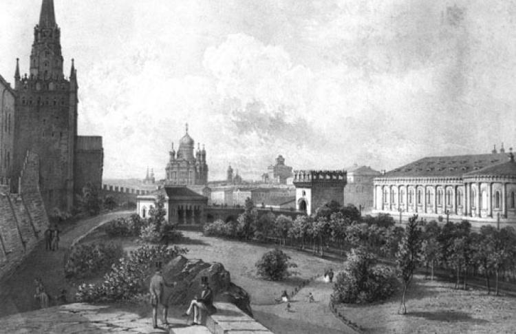 Александровский сад. Люди и нелюди