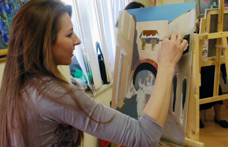 Набор на курс рисования и живописи для взрослых