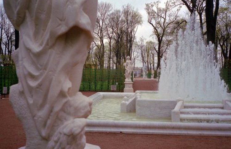 Закрытие сезона фонтанов