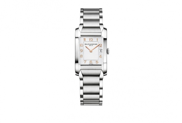 Baume & Mercier представил женские часы встиле ар-деко - Фото №1