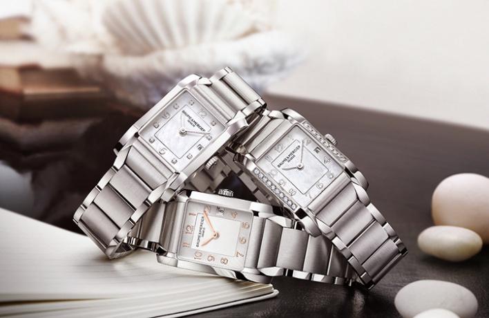 Baume & Mercier представил женские часы встиле ар-деко