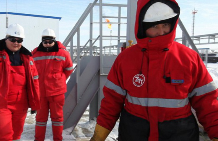 Проба грунта в Казахстане