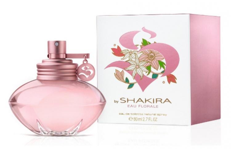 Шакира выпустила цветочный парфюм «SbyShakira Eau Florale»