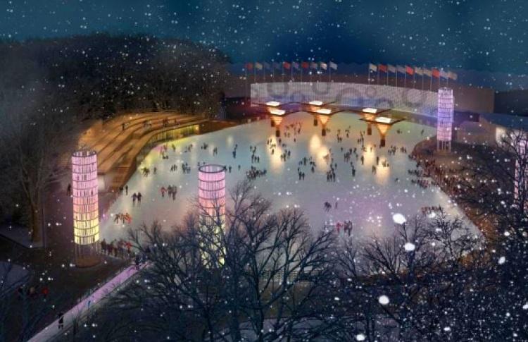 Впарке «Сокольники» появятся обсерватория иновый каток