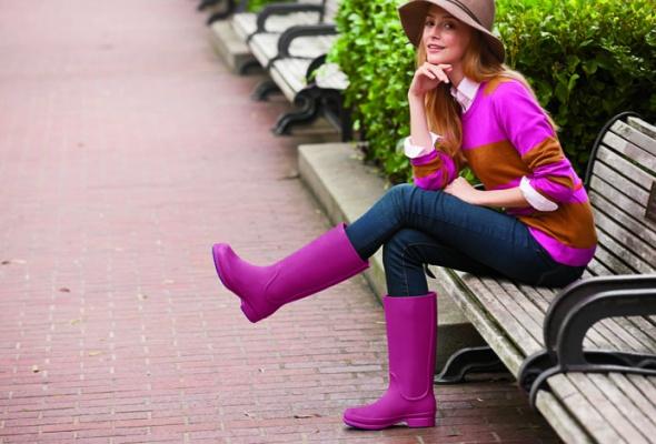 Непромокаемая обувь: 50пар наосень - Фото №0