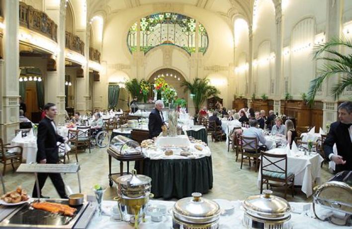 Фестиваль новой скандинавской кухни вГранд Отеле Европа