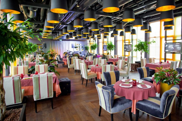 Тренд: рестораны накораблях
