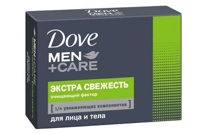 УDove вышло специальное мужское мыло