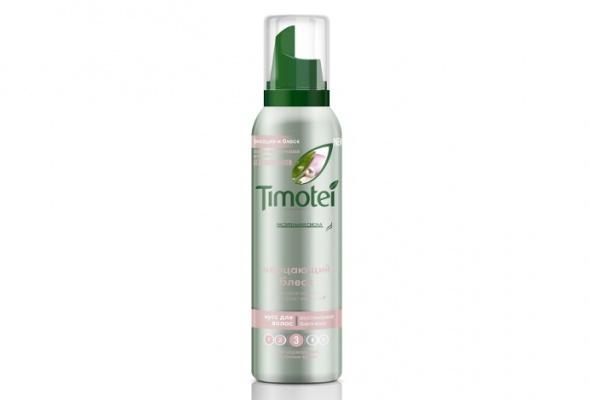 Timotei выпустил натуральные муссы для укладки волос - Фото №1