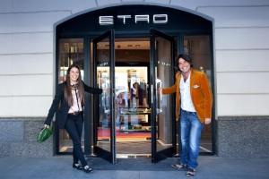 Четвертый бутик Etro появился вМоскве