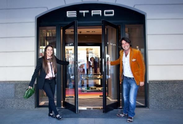Четвертый бутик Etro появился вМоскве - Фото №0