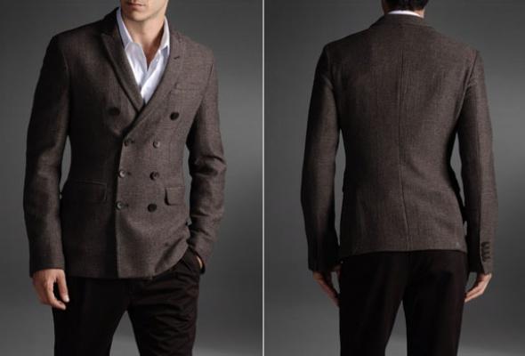 6магазинов смужскими двубортными пиджаками - Фото №1