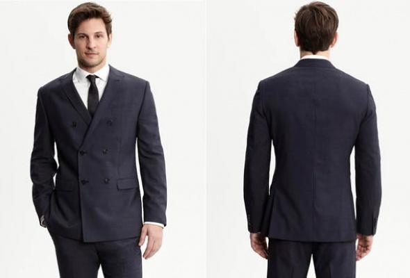 6магазинов смужскими двубортными пиджаками - Фото №2