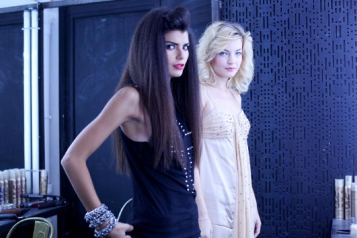 Участницы реалити-шоу «Топ-модель по-русски» выбирают Rowenta