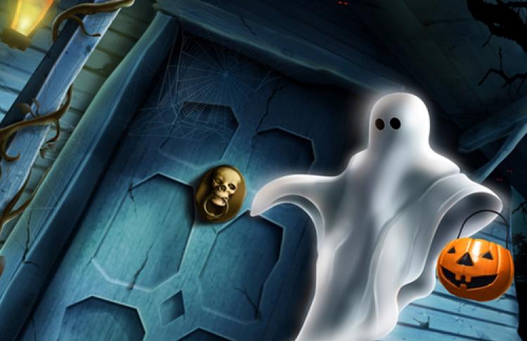 Хэллоуин. Комната с привидениями