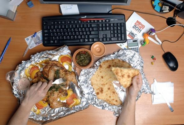 6вариантов плотно поесть, неотходя отрабочего места - Фото №1