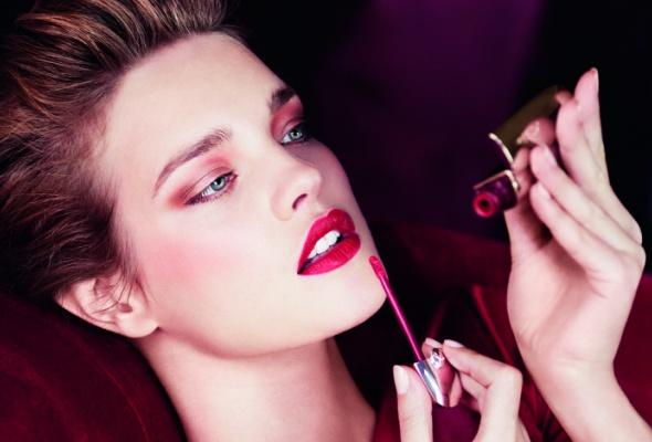 Розовые икрасные помады восенней коллекции макияжа Guerlain - Фото №0