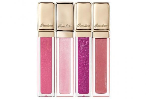 Розовые икрасные помады восенней коллекции макияжа Guerlain - Фото №2