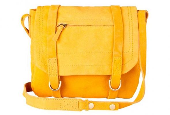 Осеннюю коллекцию Gap дополнили яркие замшевые сумки - Фото №0