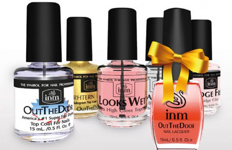 Подарок за покупку продуктов INM