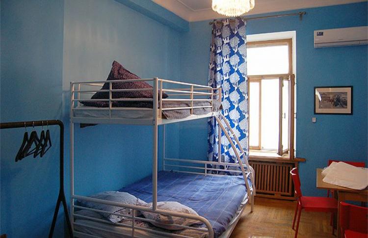Вновом хостеле наЗнаменке можно переночевать за700 р.