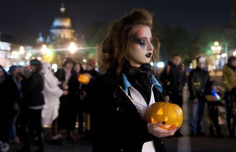 Артмоб Halloween