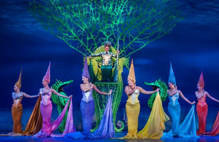 В театре «Россия» идут последние показы мюзикла «Русалочка»