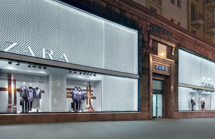 Zara наТверской открылась после реконструкции