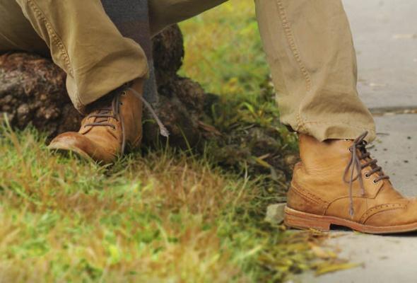 10пар мужских демисезонных ботинок - Фото №0