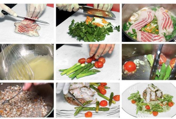 Рецепт: Блюдо изстерляди сбелым столовым вином - Фото №2