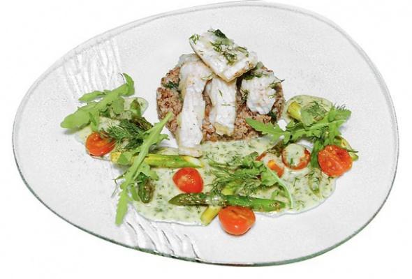 Рецепт: Блюдо изстерляди сбелым столовым вином - Фото №0