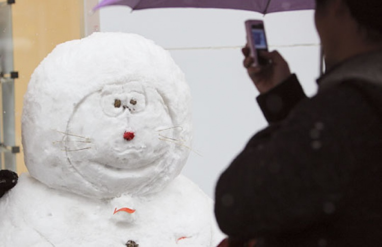 На«Красном Октябре» пройдет конкурс снеговиков