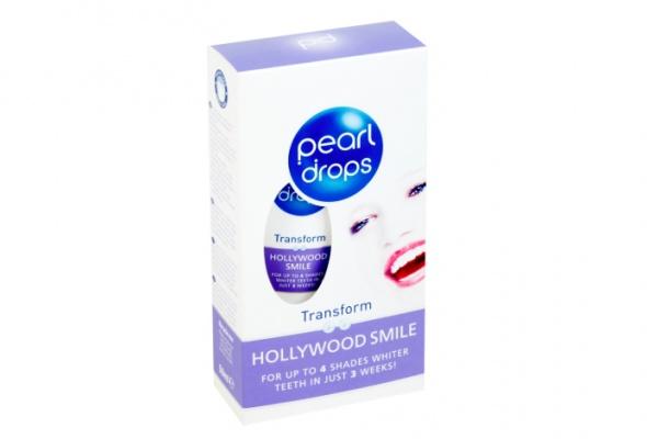 Новая отбеливающая зубная паста Pearl Drops Hollywood Smile - Фото №0