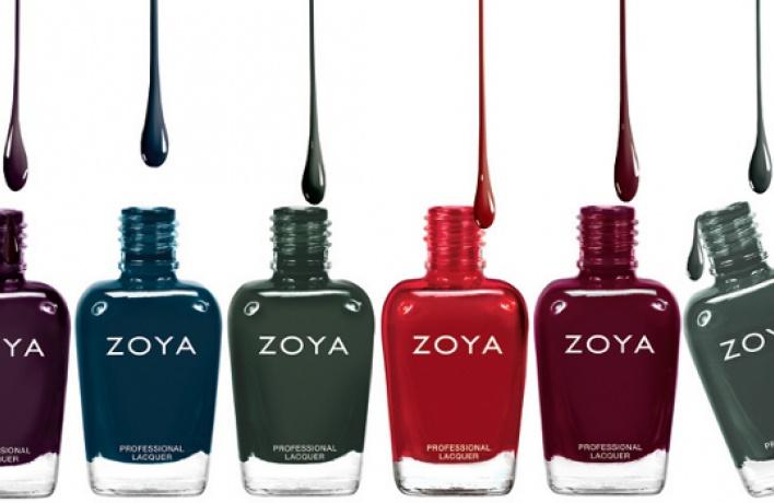 Вкорнерах Cosmotheca появились новые лаки для ногтей Zoya