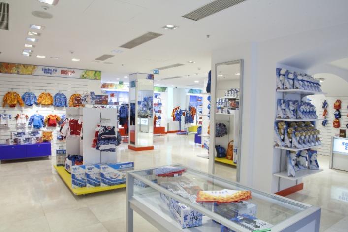 Олимпийскую коллекцию Bosco Sport привезли вГУМ