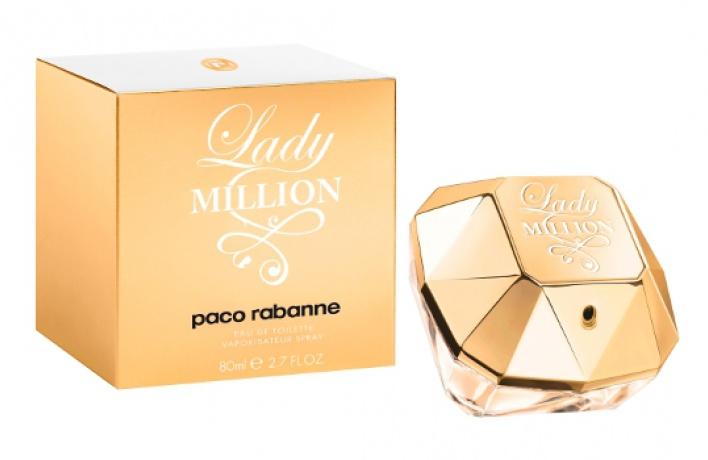 Paco Rabanne выпустил туалетную воду Lady Million