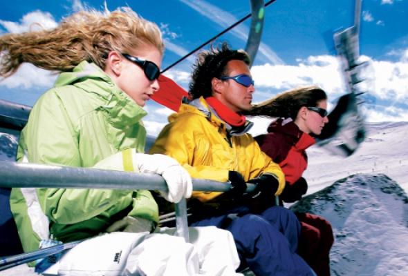 Зимний отпуск: катаемся сгор - Фото №1