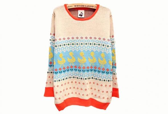 25женских свитеров - Фото №3