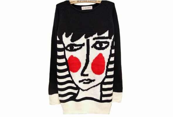 25женских свитеров - Фото №21