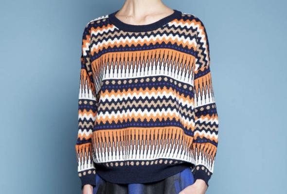 25женских свитеров - Фото №10